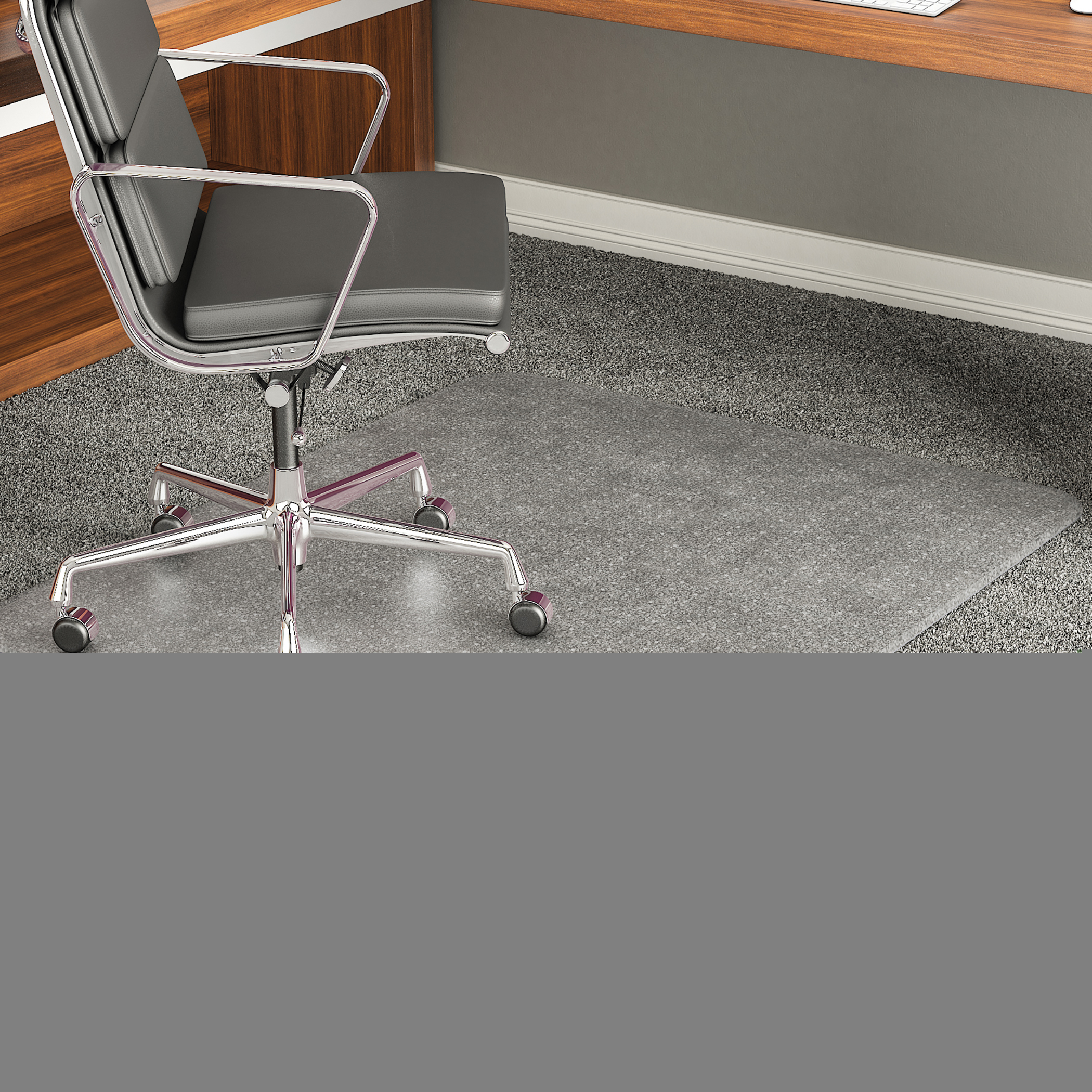 office chair mat 48 x rocking christmas covers cm17143 reception home carpet floor protector