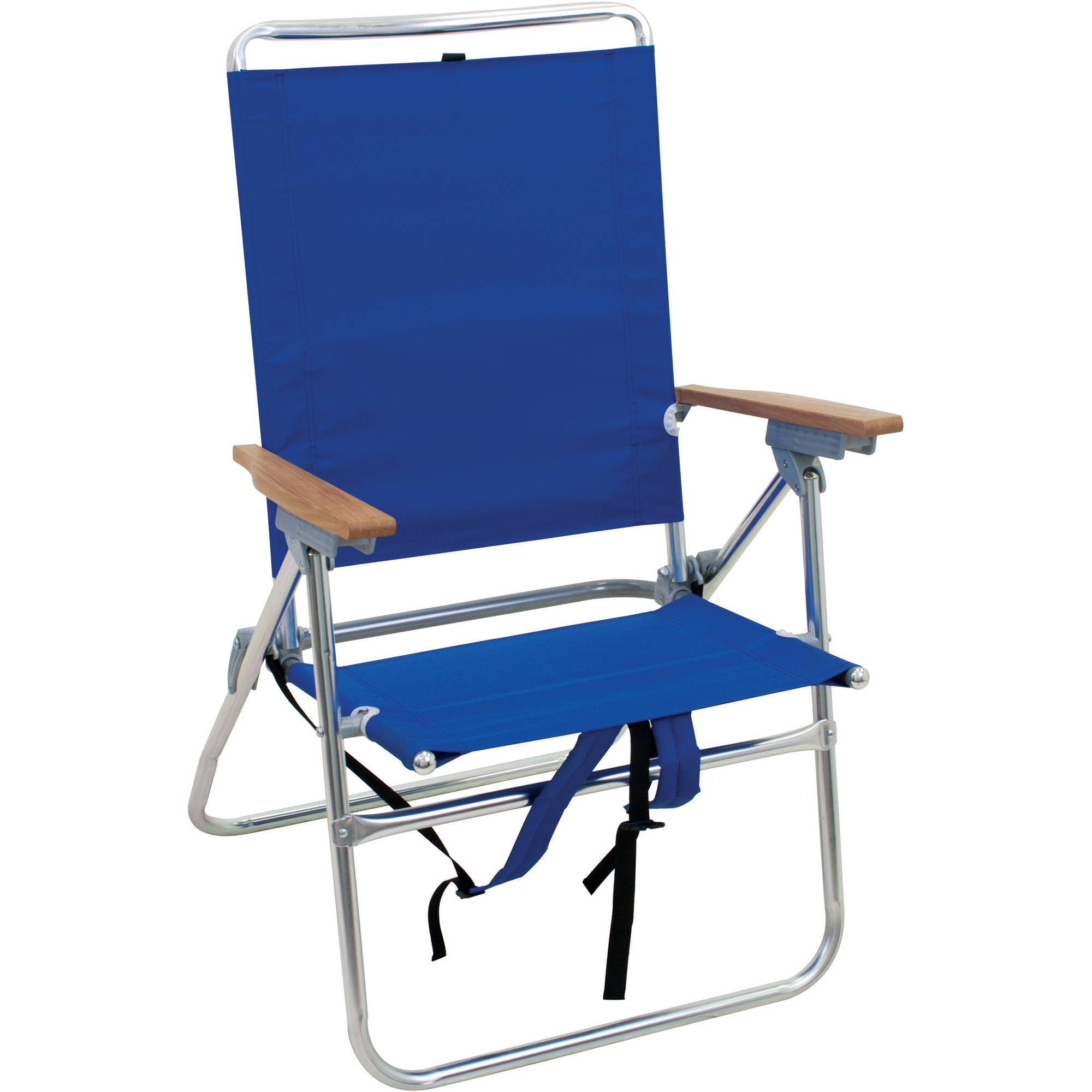 beach chair photo frame covers for sofa and loveseat rio hi boy with backpack straps aluminum 17 inch seat height walmart com