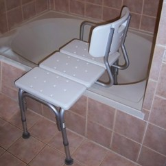 Shower Chair Vs Tub Transfer Bench Cherry Windsor Dining Chairs Anself Adjustable Seat Medical Bathroom Bath Stool