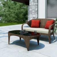 Sonax Harrison Patio Sofa Set - Walmart.com