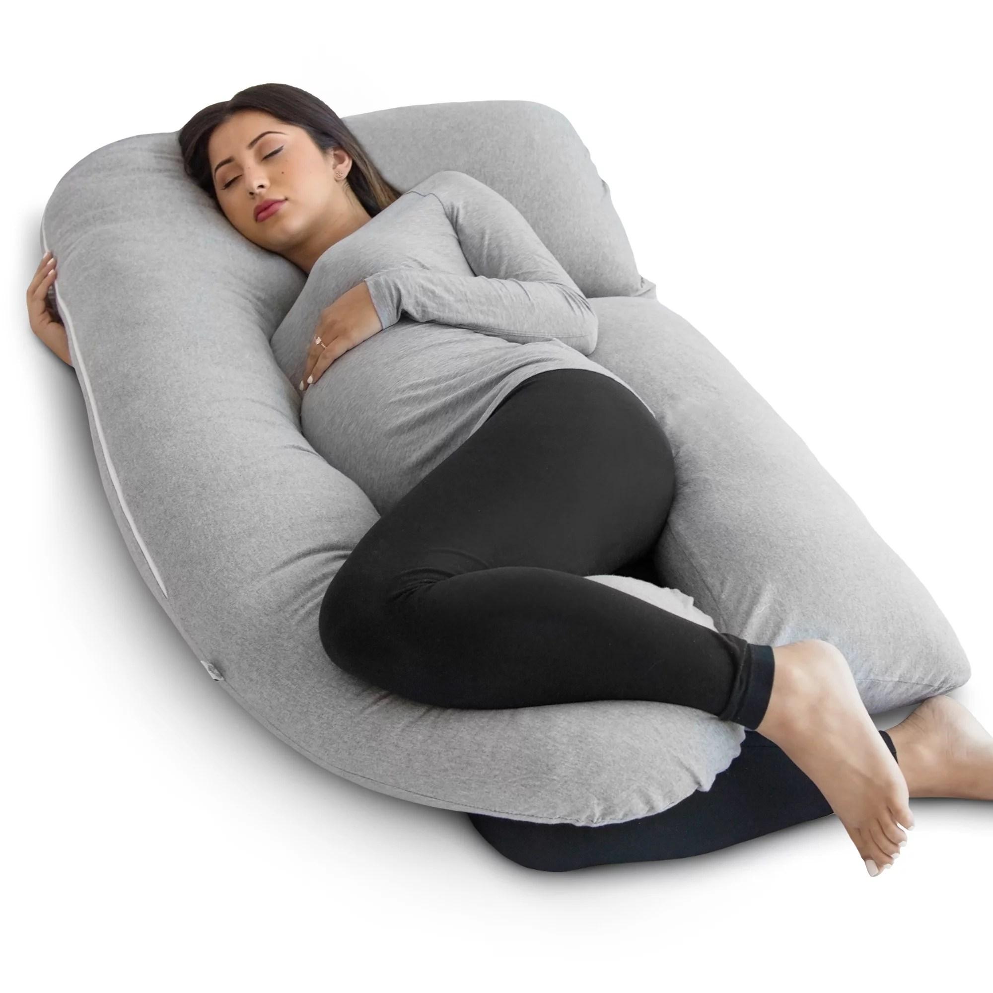 PharMeDoc Full Body Pregnancy Pillow U Shaped Body