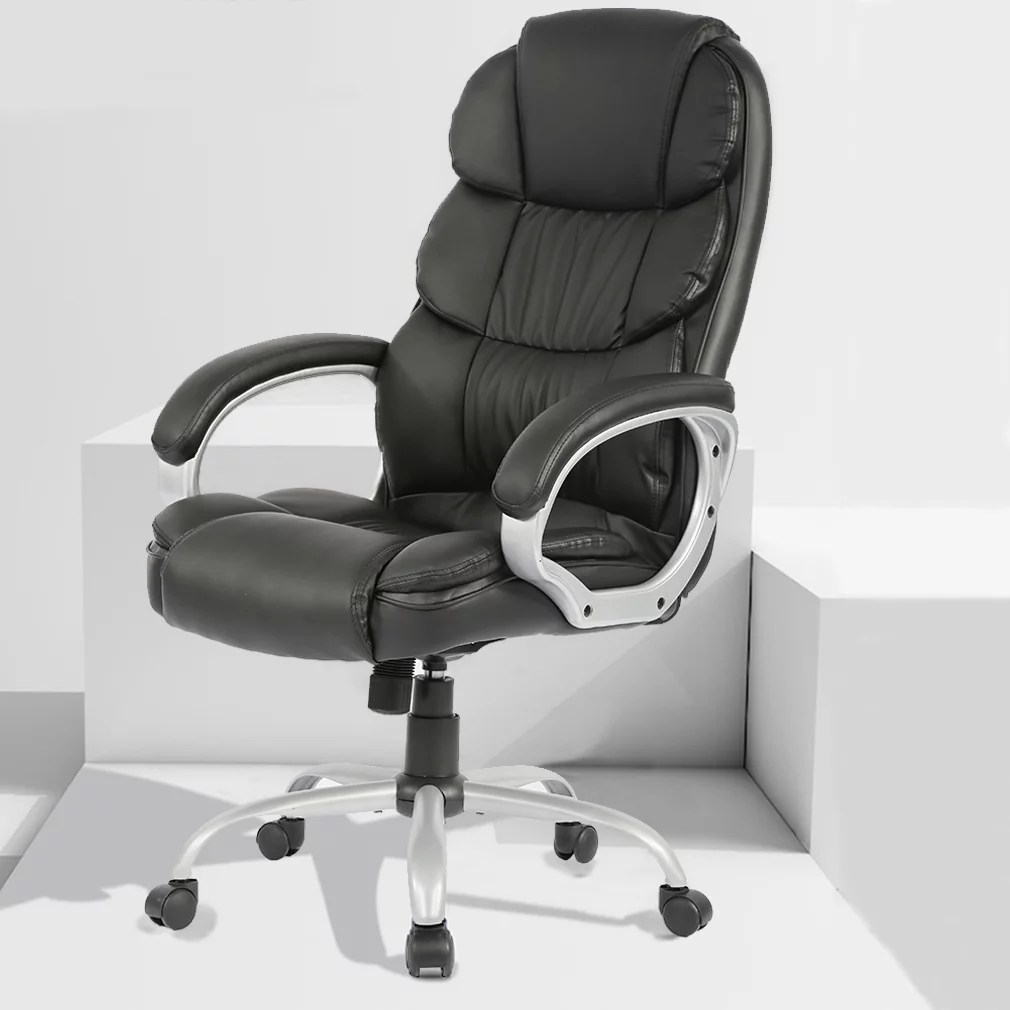 Home Office Desk Chairs Office Desk Chair Ergonomic Swivel Executive Adjustable Task Computer Chair High Back Office Desk Chair With Back Support In Home Office