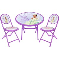 Disney Princess and the Frog Round Table and Chair Set