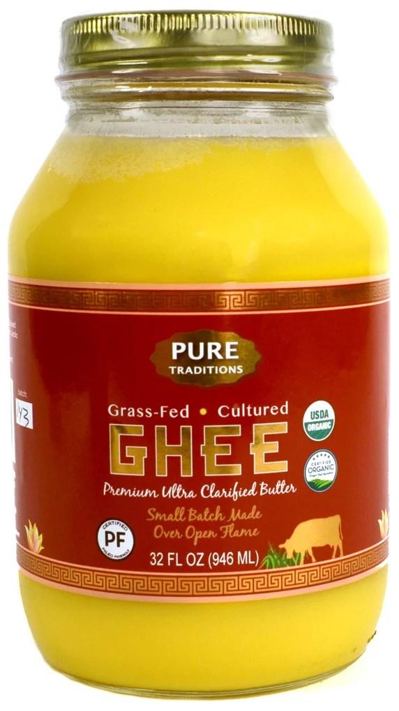 100% Organic Grass-Fed Cultured Ghee Certified Paleo 32 ...