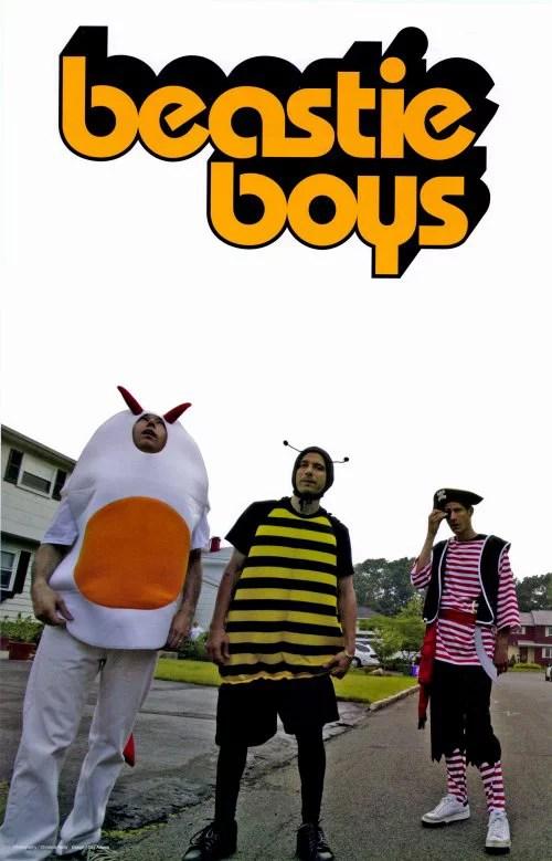 beastie boys 11x17 music poster