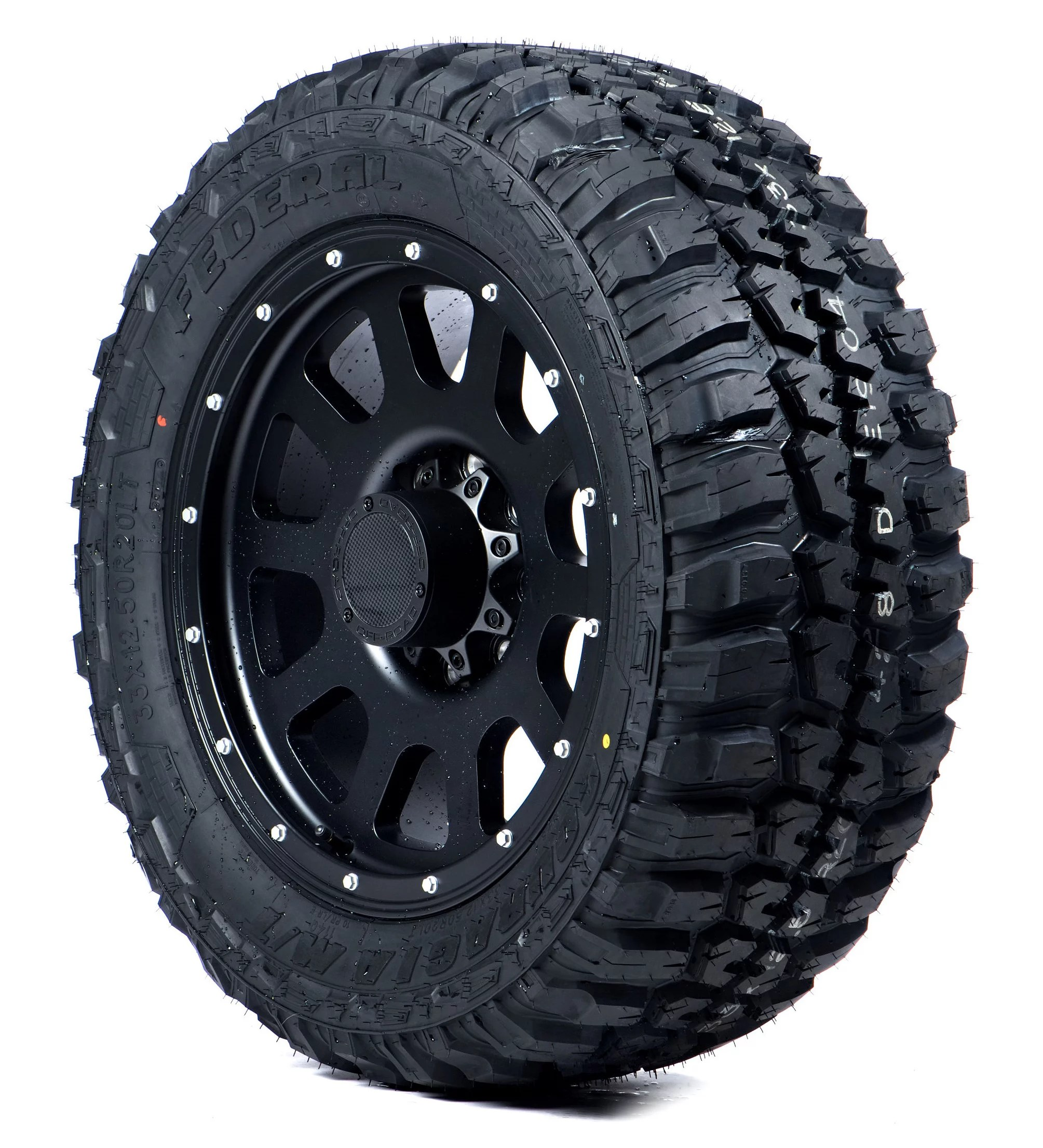 Federal Couragia M/T Mud-Terrain Tire – 33X12.50R20 E 10ply