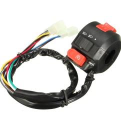 grtsunsea left 7 8 handlebar start kill on off headlight light control switch 22mm handle bar motorcycle atv quad 50cc 70cc 90cc 110cc 125cc pit dirt bike  [ 1200 x 1200 Pixel ]