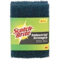 3M Scotch-Brite Industrial Strength Scouring Pad - Walmart.com