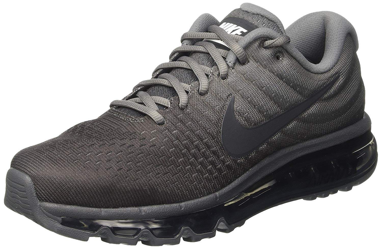 Nike - Nike Men's Air Max 2017 Running Shoes (10.5 M US. Cool Grey/Antracite/Dark Grey) - Walmart.com - Walmart.com