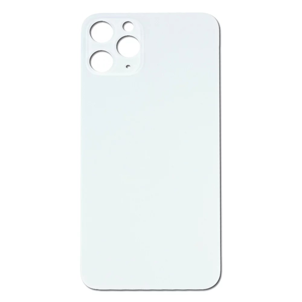 Replacement Back Glass Housing Panel for Silver Apple
