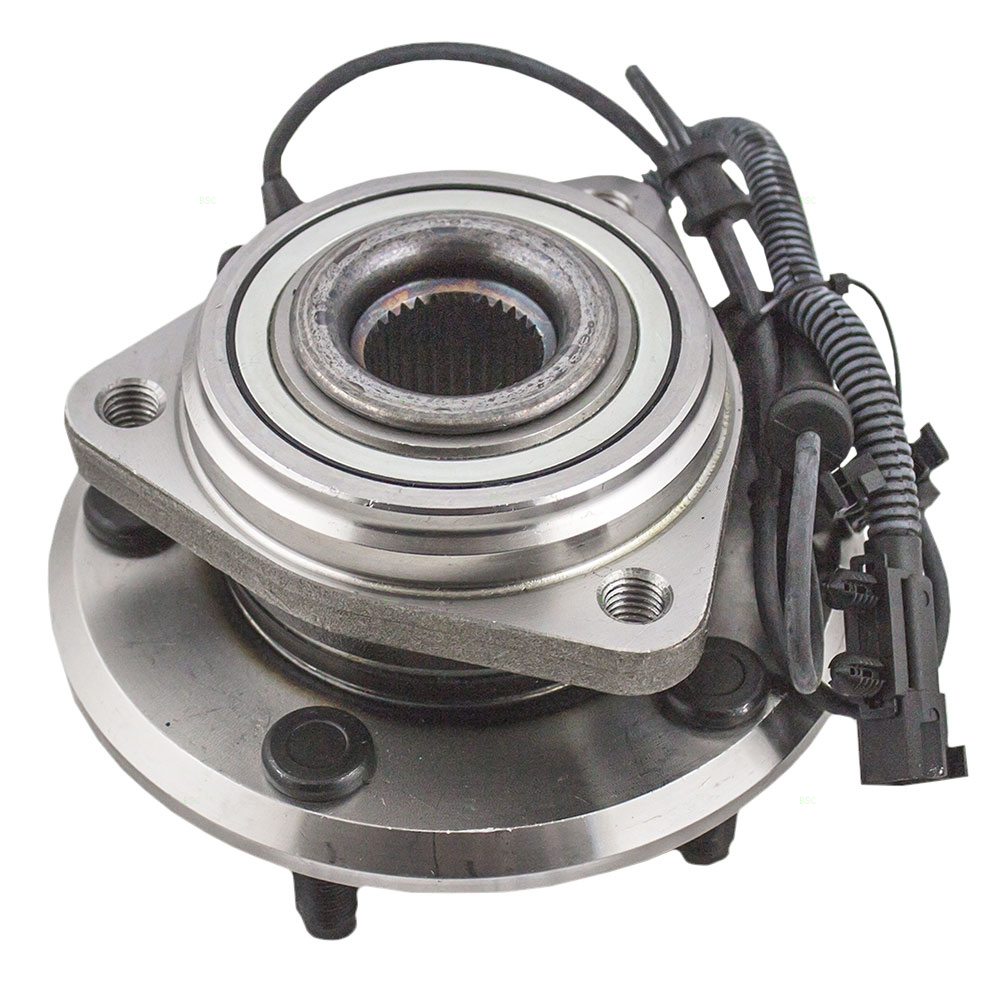 hight resolution of front wheel hub bearing assembly replacement for 2007 2017 jeep wrangler 2018 wrangler jk jk unlimited 52060398ad 52060398ac walmart com
