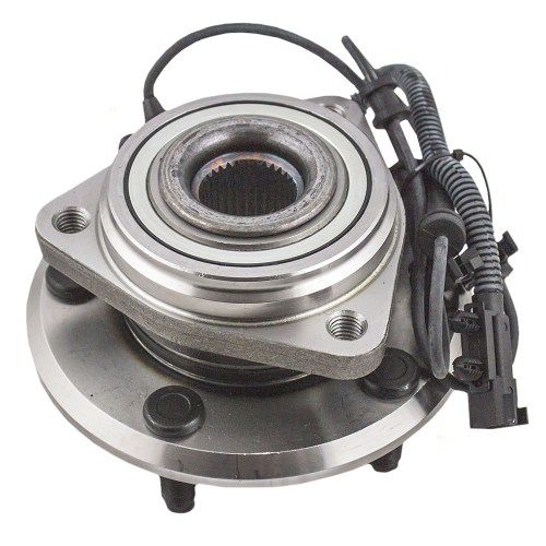 small resolution of front wheel hub bearing assembly replacement for 2007 2017 jeep wrangler 2018 wrangler jk jk unlimited 52060398ad 52060398ac walmart com