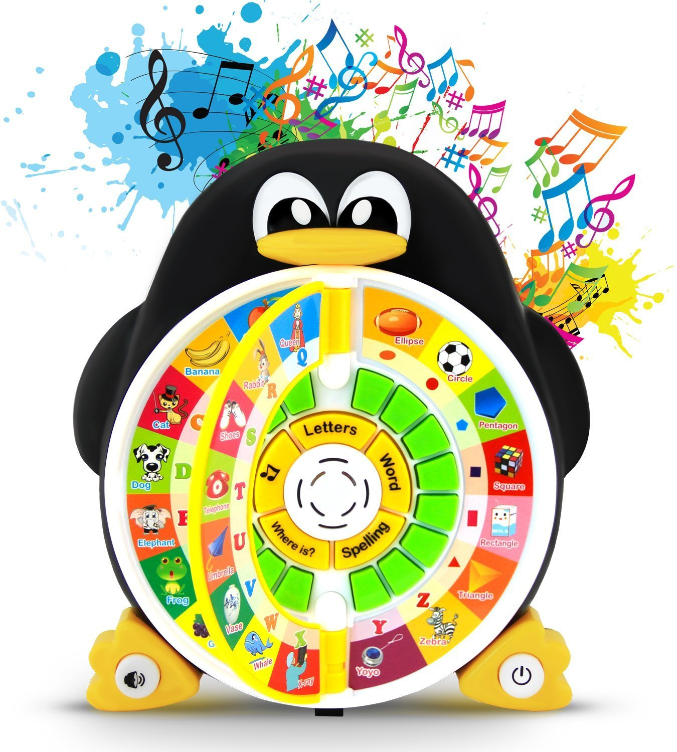 Boxiki Kids Penguin Power Abc Learning Educational Toy By