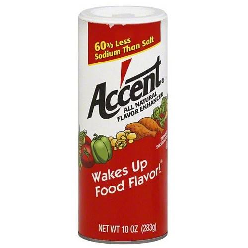 Accent All Natural Flavor Enhancer 10 oz (Pack of 12 ...