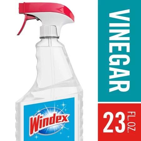 2 Pack Windex Glass Cleaner Trigger Bottle Vinegar 23