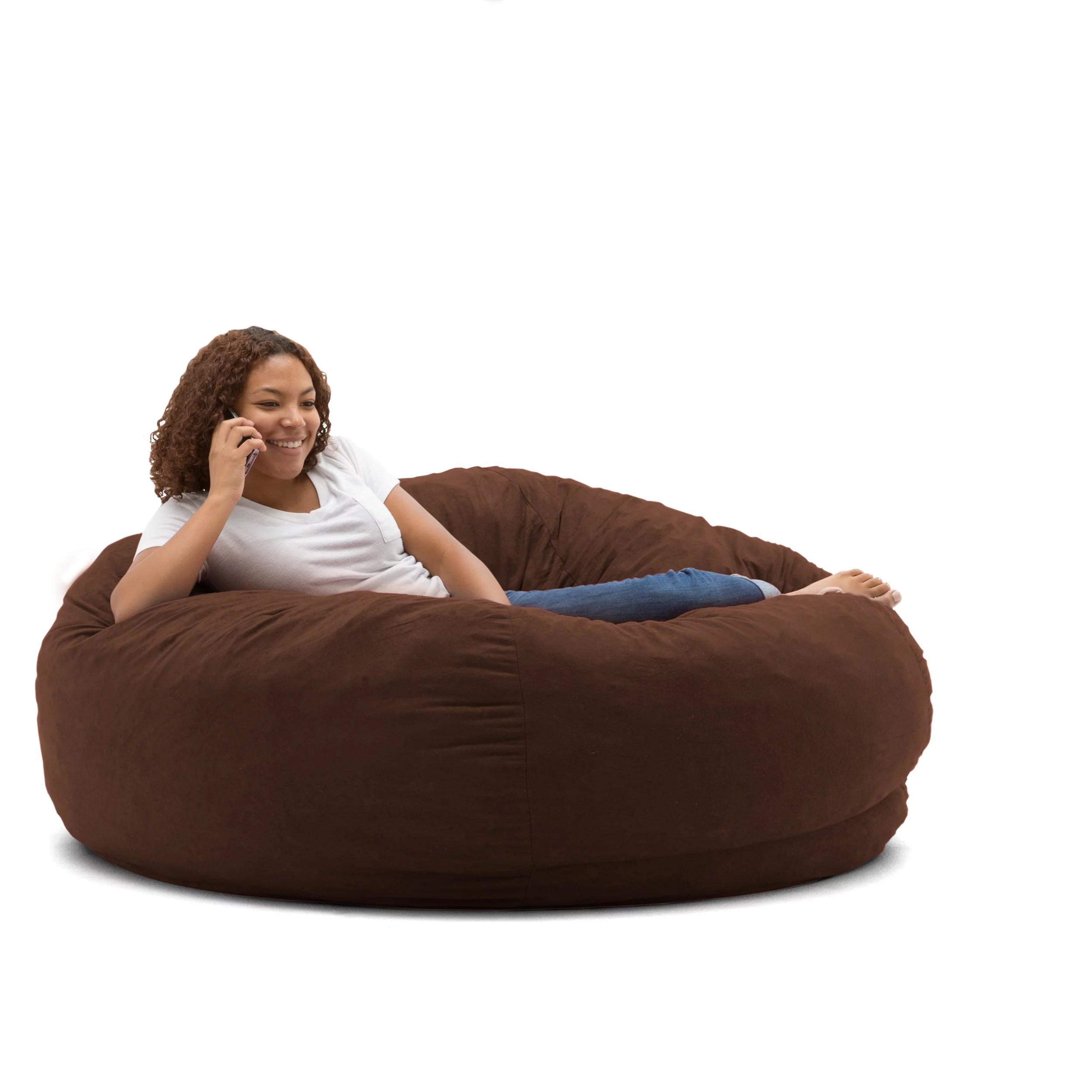 bean bags chair lcw charles ray eames big joe king 5 fuf bag multiple colors fabrics walmart com