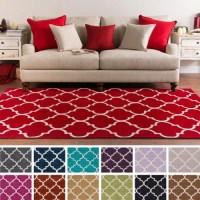 Surya Carpet, Inc. Hand-Tufted Cowes Moroccan Trellis Rug ...