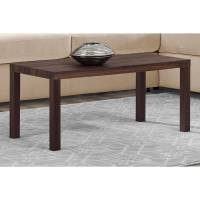 Mainstays Parsons Rectangular Sturdy Coffee Table, Canwal ...