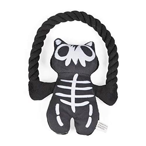 Plush Skeleton with Rope Dog Toy - Walmart.com - Walmart.com