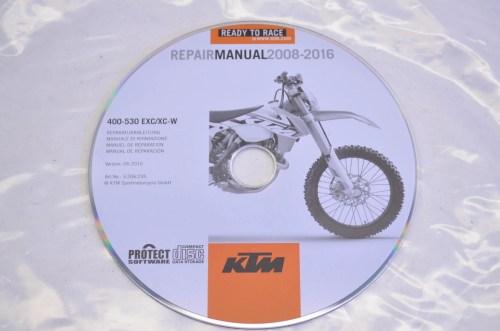 small resolution of ktm 3206235 2008 2016 400 530 exc xc w repair manual cd disc qty 1 walmart com