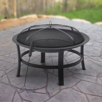Mainstays Gas Fire Pit, Oil Rubbed Bronze - Walmart.com