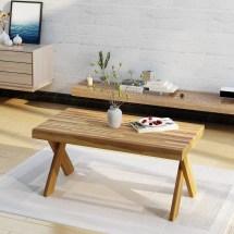 Noble House Indoor Farmhouse Acacia Wood Coffee Table