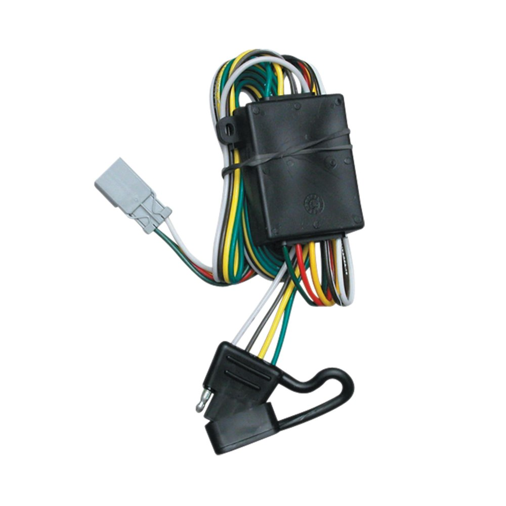medium resolution of tekonsha 118336 trailer wiring connector t one 4 way flat replacement for oem wiring harness