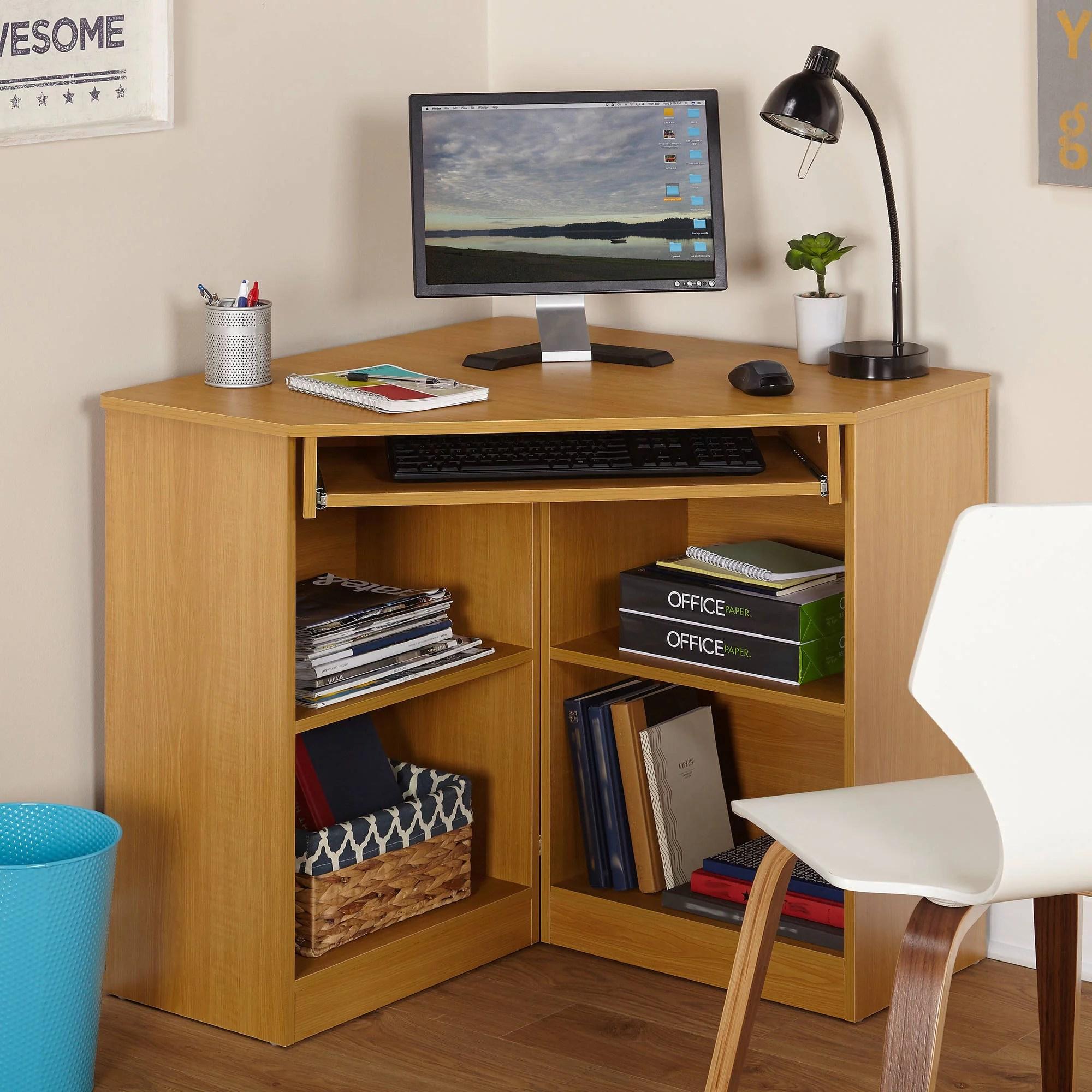 Oxford Corner Desk Multiple Colors  Walmartcom