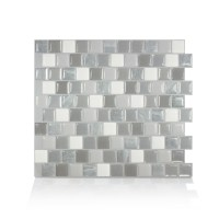 Smart Tiles 10.20 in x 8.85 in Peel and Stick Self ...