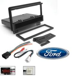 scosche fd1422b single din installation dash kit for select 2001 06 ford with wire harness walmart com [ 1000 x 1000 Pixel ]