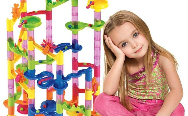Marble Run Set 105 Pcs Construction Building Blocks Toys