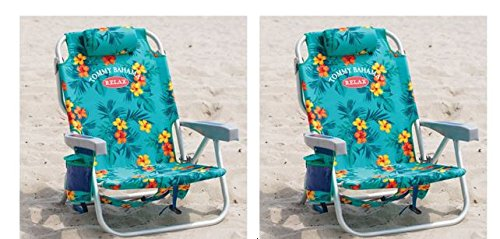 tommy bahama cooler chair bubble chairs for sale 2 backpack with storage pouch and towel bar turquoise walmart com