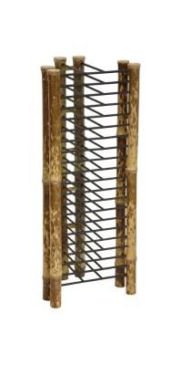 18 in. Tall Japanese Bamboo Vertical CD/DVD Rack - Walmart.com