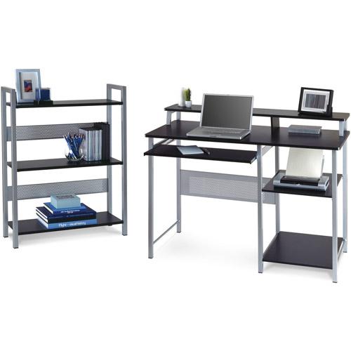Get It Together Metal Desk With Bookcase  Walmartcom