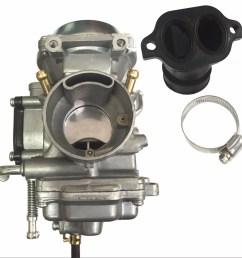 new polaris sportsman 700 carburetor intake manifold 4x4 atv quad carb 2002 2006 walmart com [ 1575 x 1575 Pixel ]