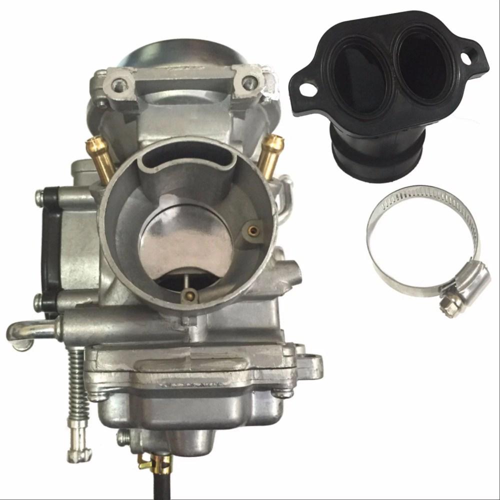 medium resolution of new polaris sportsman 700 carburetor intake manifold 4x4 atv quad carb 2002 2006 walmart com