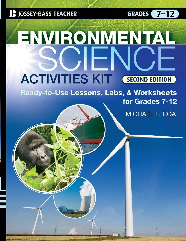 J B Ed Activities Environmental Science Activities Kit