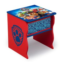 Nick Jr. PAW Patrol Wood Side Table with Storage by Delta