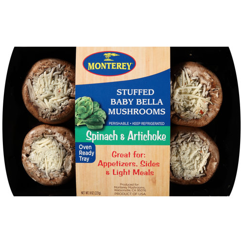Giorgio Stuffed Portabella Mushrooms 8 oz Walmartcom