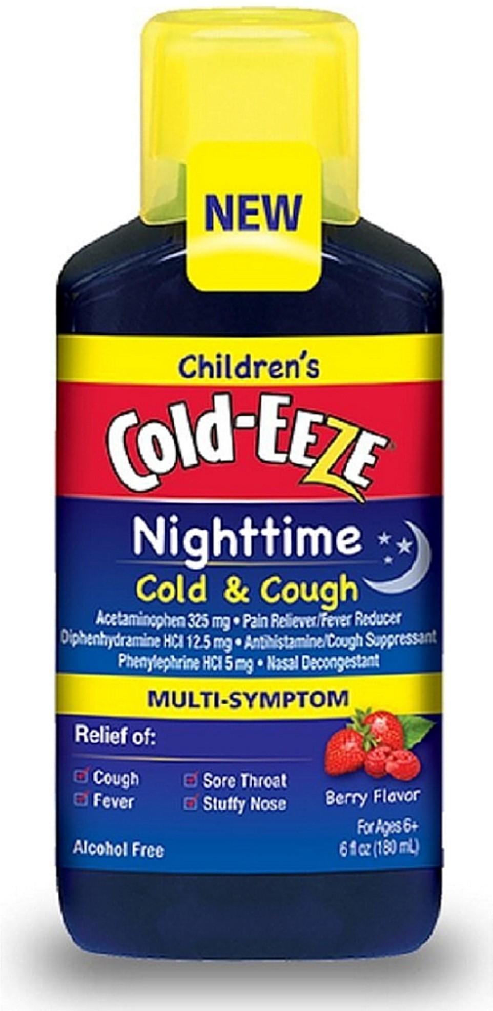 COLD-EEZE Children's Nighttime Cold & Cough Multi-Symptom ...
