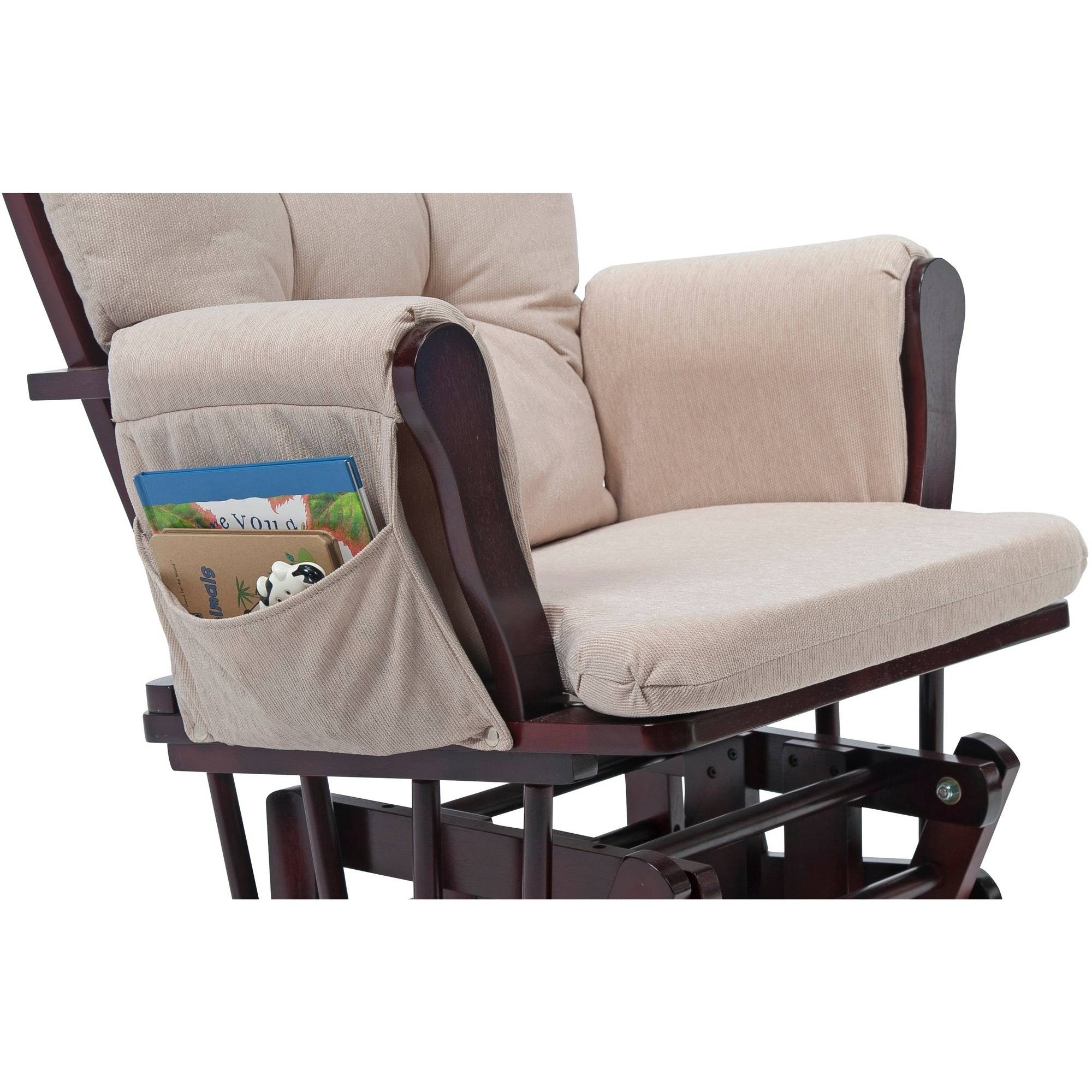 Nursery Glider Ottoman Baby Set Rocking Chair Rocking Wood