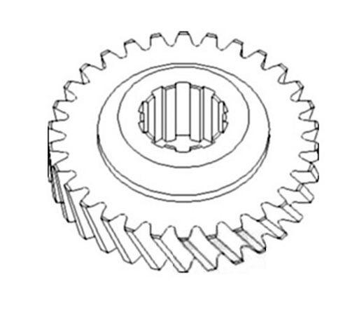 A & I Products Gear, Main Shaft (3rd) Replacement for