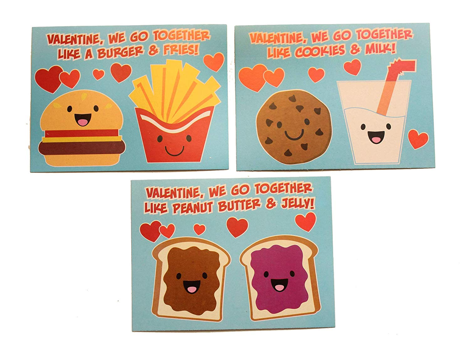 24 We Go Together Adorable Valentine S Day Cards For Kids