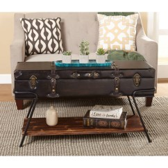 Trunk Coffee Table Living Room Furniture Remodeling A Walmart Com