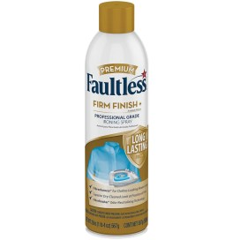 Faultless Premium Firm Finish+ Ironing Spray, 20 oz Can