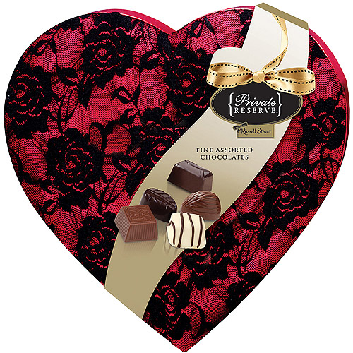 Russell Stover Private Reserve Valentine Fine Chocolates