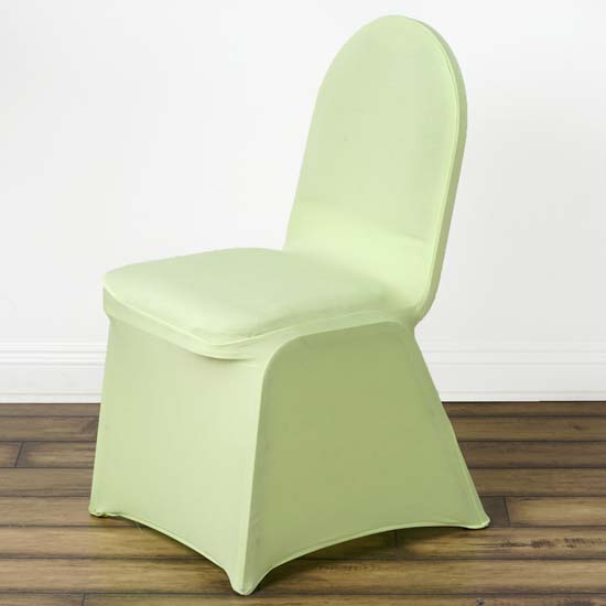 green banquet chair covers shampoo bowls and chairs stretchy spandex fitted cover tea walmart com