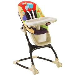 Small High Chair Black Table And Chairs Fisher Price Spacesaver Rainforest Friends Walmart Com