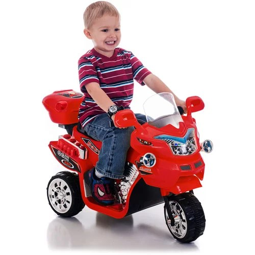 Ride On Toy 3 Wheel Motorcycle For Kids Battery Powered