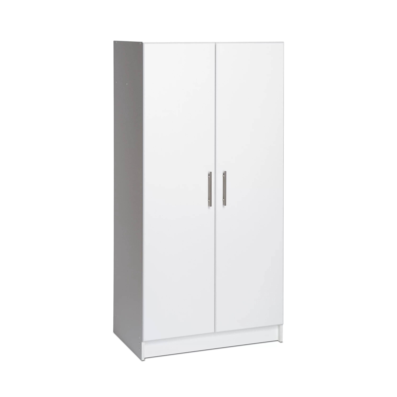 Prepac 32 Wardrobe Cabinet White  Walmartcom
